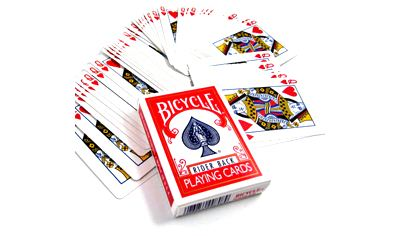 Bicycle Poker/ Forcing 1 way