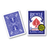 Bicycle Poker, Gold Seal, blue