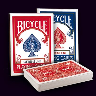 Bicycle Poker - Supreme line set of 2